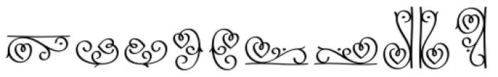 LoveHearts Font OTHER CHARS