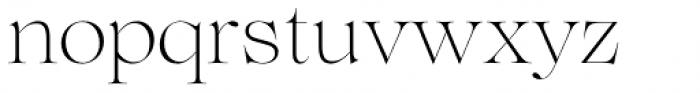 Lovelace Extralight Font LOWERCASE