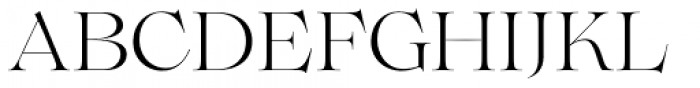Lovelace Light Font UPPERCASE