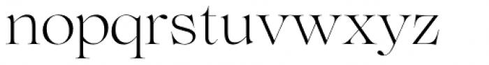 Lovelace Light Font LOWERCASE