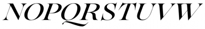 Lovelace Medium Italic Font UPPERCASE
