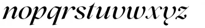 Lovelace Medium Italic Font LOWERCASE