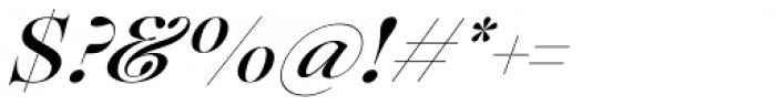 Lovelace Script Medium Font OTHER CHARS