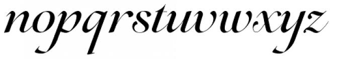 Lovelace Script Medium Font LOWERCASE
