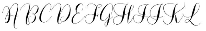 Lovely Dramatis Font UPPERCASE