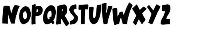 Lovely Scream Queens Regular Font UPPERCASE