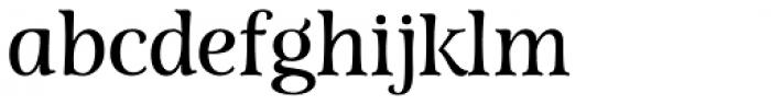 Lovingly Friends Serif Regular Font LOWERCASE