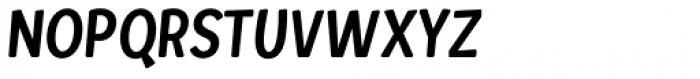 Loyola Round Pro Light Oblique Font UPPERCASE