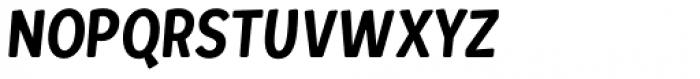 Loyola Round Pro Regular Oblique Font UPPERCASE