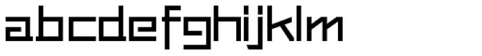 Loyolliams Thin Font LOWERCASE