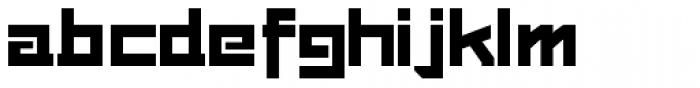 Loyolliams Font LOWERCASE