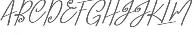 Lobster Blush Bold Slant Font UPPERCASE