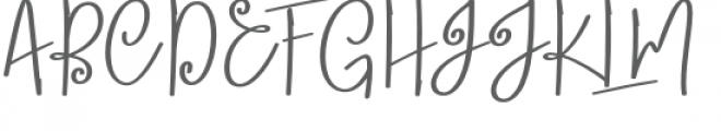 Lobster Blush Bold Font UPPERCASE