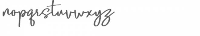 Lobster Blush Bold Font LOWERCASE