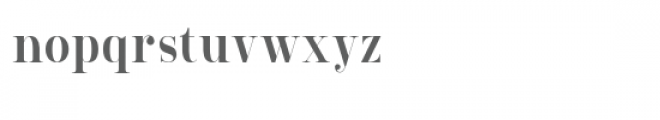Lourena Font LOWERCASE