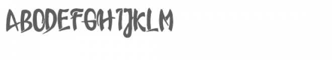 lover Font UPPERCASE