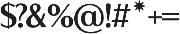 LP Lazise SemiSerif Regular otf (400) Font OTHER CHARS