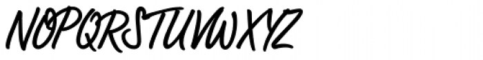 LP Bambus Regular Font UPPERCASE