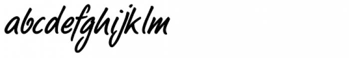 LP Bambus Regular Font LOWERCASE