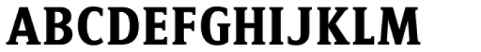 LP Cervo Serif Font UPPERCASE