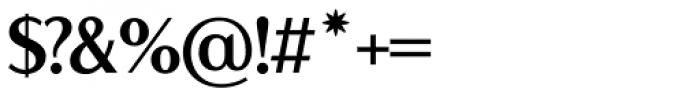 LP Lazise Semi Serif Font OTHER CHARS