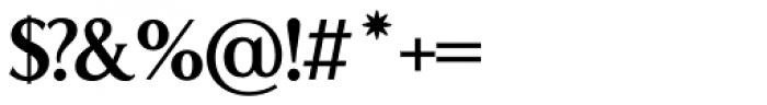 LP Lazise Serif Font OTHER CHARS
