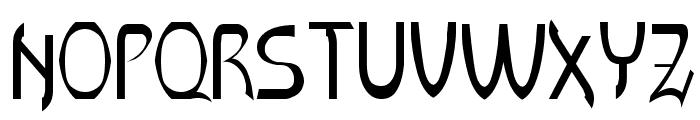 LR HandScript Font UPPERCASE