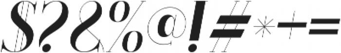 LS-Babylon-Italic Italic ttf (400) Font OTHER CHARS