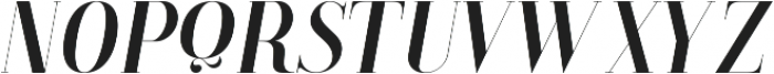 LS-Babylon-Italic Italic ttf (400) Font UPPERCASE