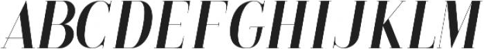 LS-Babylon-Italic Italic ttf (400) Font LOWERCASE