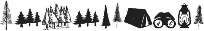 LS Dingbats Outdoor otf (400) Font OTHER CHARS