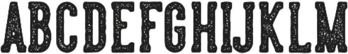 LS Harsey Serif Block otf (400) Font UPPERCASE