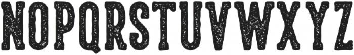 LS Harsey Serif Block otf (400) Font LOWERCASE