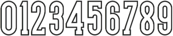 LS Harsey Serif Outline otf (400) Font OTHER CHARS