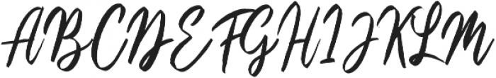 LS Hymned Script otf (400) Font UPPERCASE