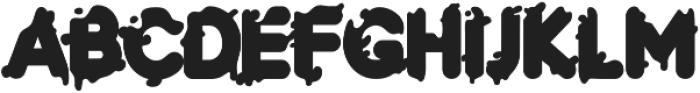 LS-paper-black-R otf (900) Font UPPERCASE