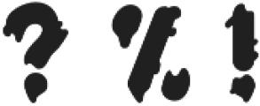 LS-paper-orange-R otf (400) Font OTHER CHARS