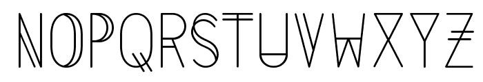 LS-LightAlt Font UPPERCASE