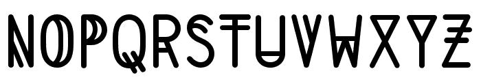 LS Medium Font UPPERCASE