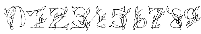 LSLeaves Font OTHER CHARS