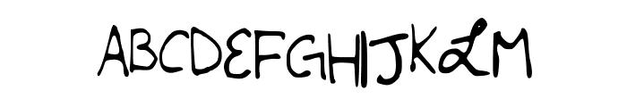 LSMiserableandMagical Font UPPERCASE