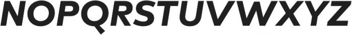 Lto Poligon Extra Bold Italic otf (700) Font UPPERCASE