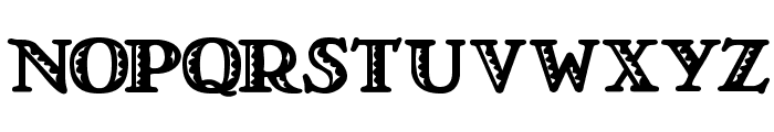 LT Nutshell Library Font LOWERCASE