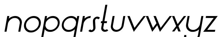 LT Oksana Italic Font LOWERCASE
