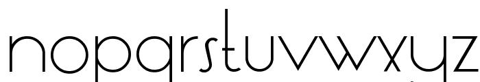 LT Oksana Light Font LOWERCASE