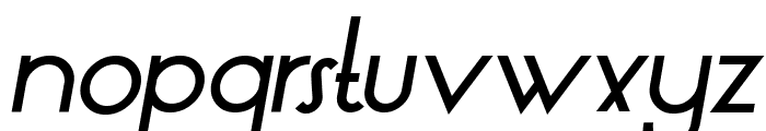 LT Oksana Medium Italic Font LOWERCASE