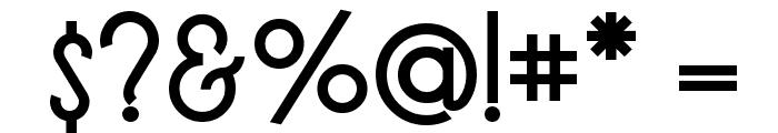 LT Oksana Medium Font OTHER CHARS