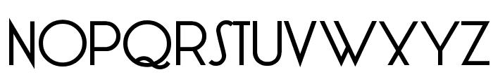 LT Oksana Medium Font UPPERCASE