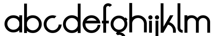 LT Oksana Medium Font LOWERCASE