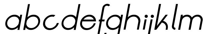 LT Oksana Regular Italic Font LOWERCASE